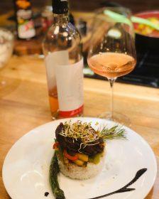 Vrabioara de vita maturata in crusta de piper cu orez basmatic exotic (4)