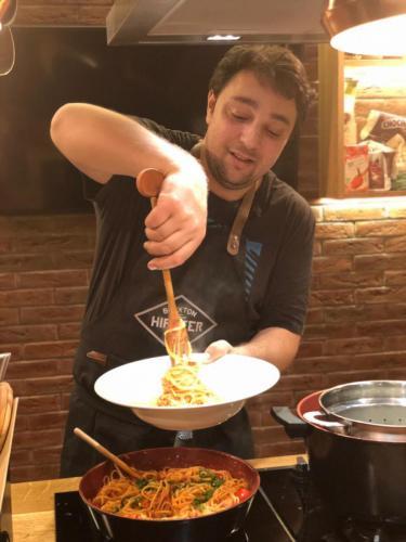 Spaghete cu ton și fructe de mare (10)
