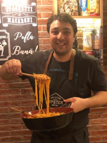 Spaghete cu ton și fructe de mare (16)