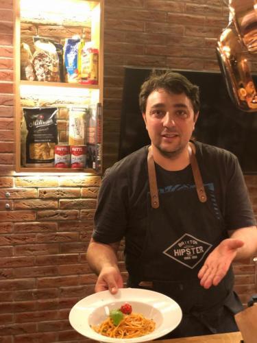 Spaghete cu ton și fructe de mare (19)