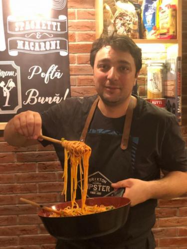 Spaghete cu ton și fructe de mare (20)