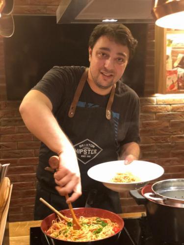 Spaghete cu ton și fructe de mare (8)