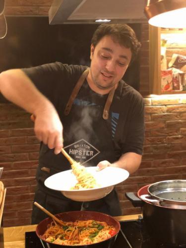 Spaghete cu ton și fructe de mare (9)